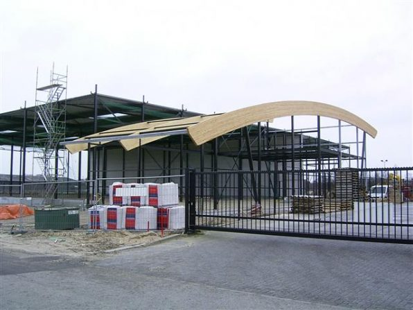 Constructie bedrijfspand Filippo