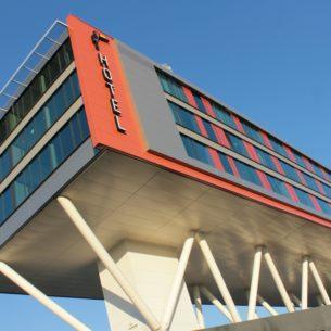 Constructie Van der Valk Veenendaal