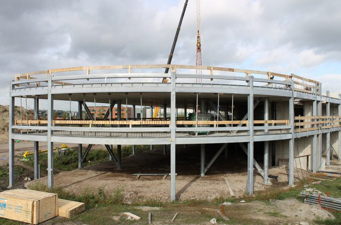 IBT constructie Van der Valk Veenendaal