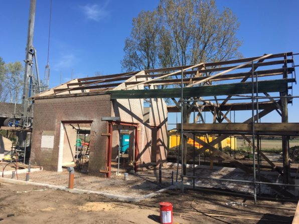Nieuw- en verbouw woning te Harskamp