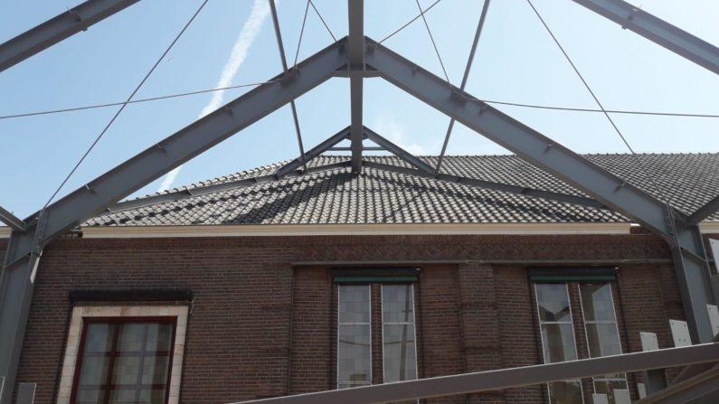 Staalconstructie Jachin Boazkerk Urk